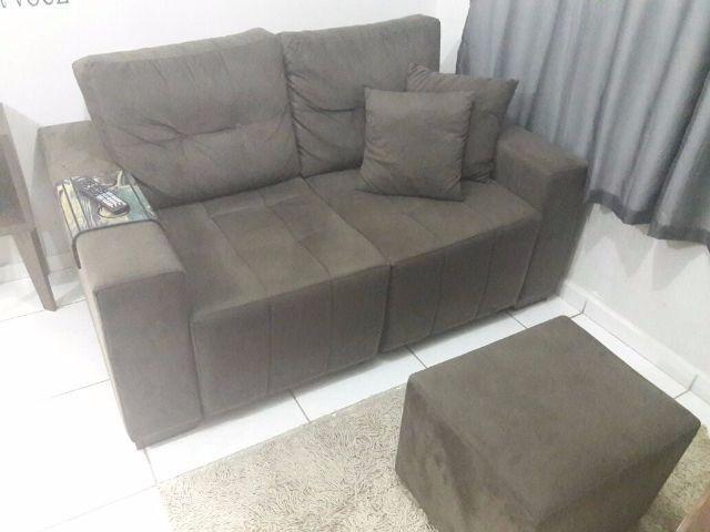 Sofa com pouco uso vazlon brasil for Sofa 02 lugares