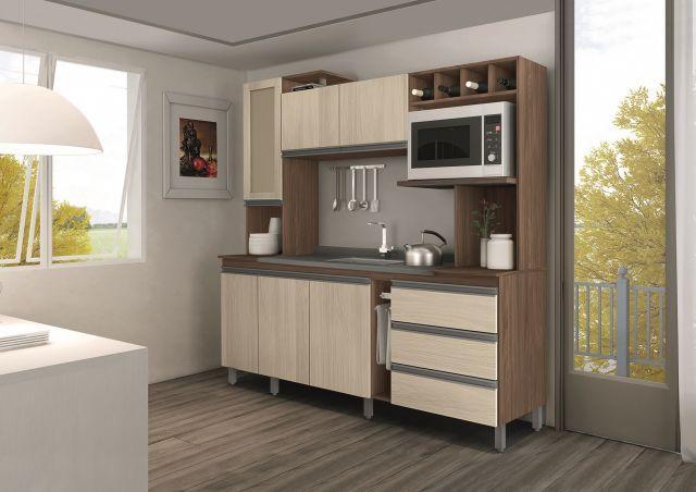 cozinha compacta 4 pecas sao paulo moveis produtos  Vazlon Brasil # Cozinha Compacta Cadorin