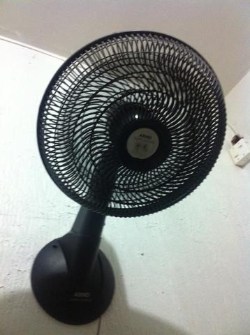 Ventilador arno turbo silencio parede