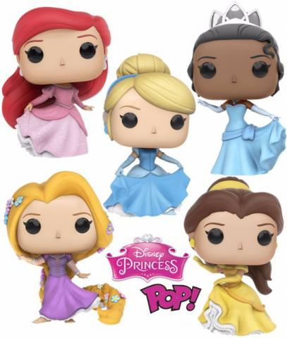 Funko Pop Princesas Disney