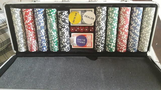 Poker maleta 500 fichas