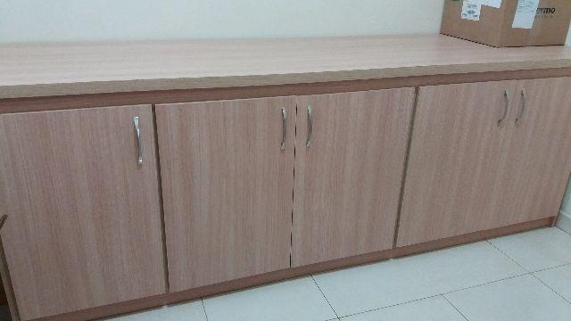 Adesivo Para Mesa De Vidro Branco ~ armario horizontal para escritorio Vazlon Brasil