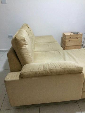 Sofa C Chaise Retratil 3 Lugares Trevisan Moveis Vazlon