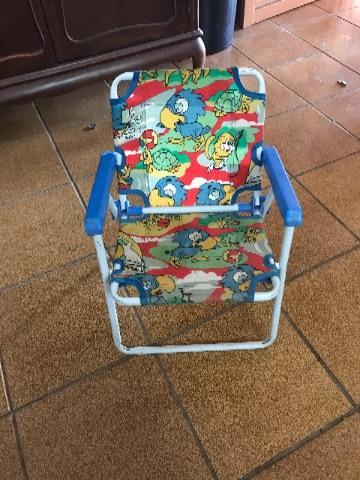 Cadeira de praia criança