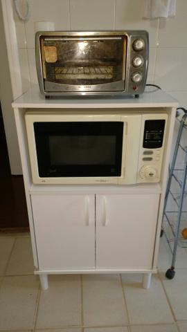 Estante para forno eletrico e microondas vazlon brasil - Estante para microondas ...
