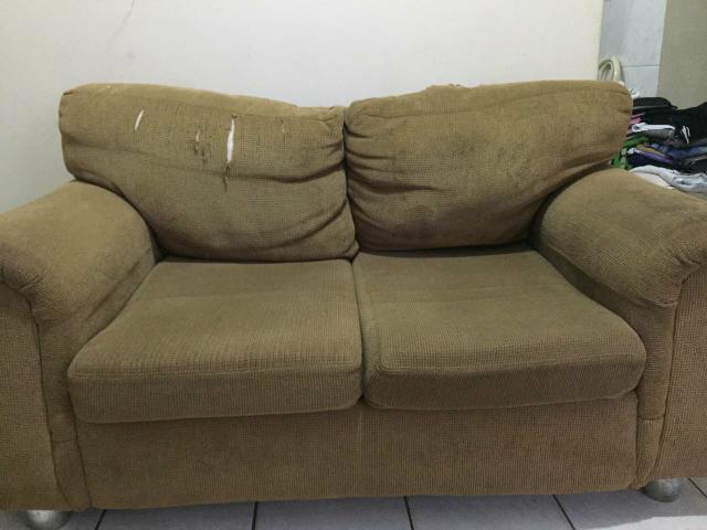 Sofas usados sofa marrom compra e venda em osasco sao for Sofas baratos usados