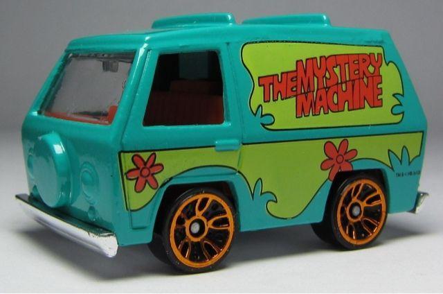 wheels mystery machine
