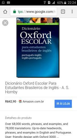 dicionario oxford advanced | Vazlon Brasil
