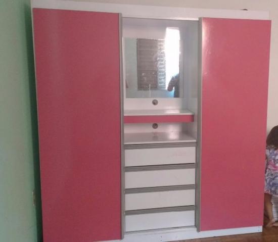 Guarda Roupa Rosa ~ guarda roupa branco c rosa 4 portas Vazlon Brasil