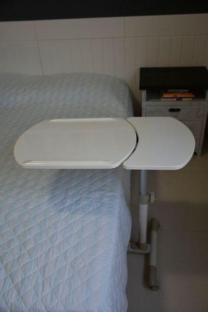 Mesa auxiliar com rodas para tv estufa etc vazlon brasil - Mesa auxiliar cama ...