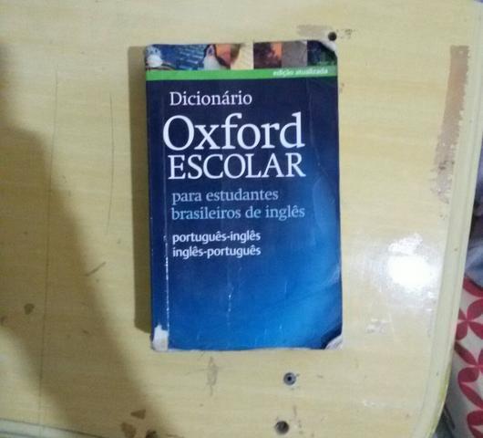 dicionario oxford escolar da lingua inglesa   Vazlon Brasil
