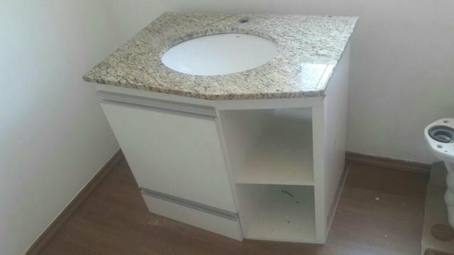 gabinete de pia com pedra granito lindaaaaa  Vazlon Brasil -> Gabinete De Banheiro Granito
