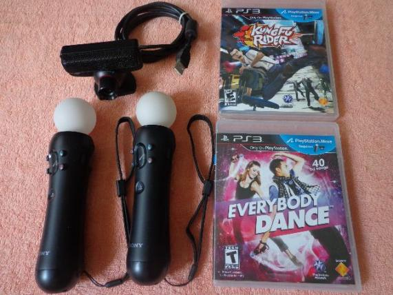 Kit Playstation Move - Completo