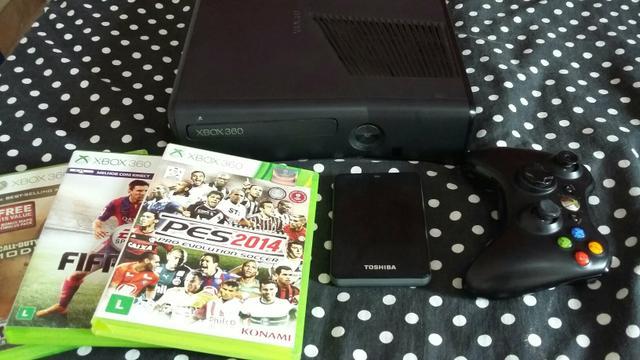 Wii black com jogos hd externo vazlon brasil for Hd esterno xbox 360