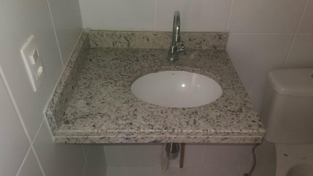 pia para banheiro com torneira e cuba nova  Vazlon Brasil -> Pia De Banheiro Semi Nova