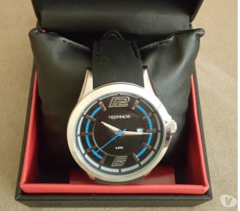relogio technos g digital pulseira de borracha azul   OFERTAS ... b4744d4ea9