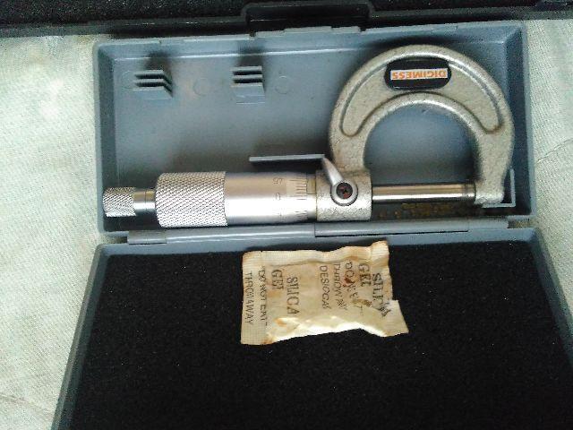 Paquimetro micrometro relogio comparador e fluido