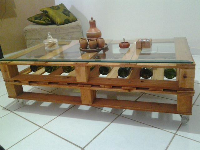 Mesa de centro feita de raiz de arvores vazlon brasil - Mesa centro palets ...