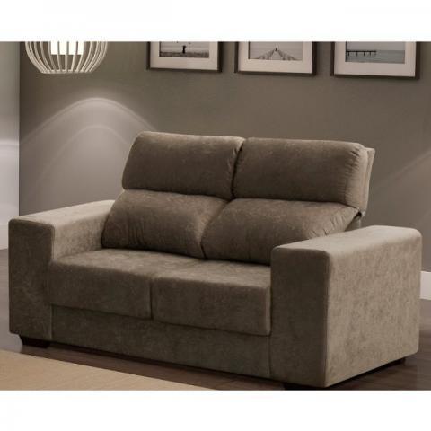 lindo sofa usado 2 lugares retratil reclinavel atlantida ...