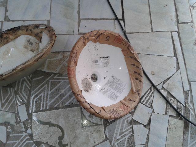cuba para banheiro de embutir oval branca icasa  Vazlon Brasil -> Cuba Para Banheiro Icasa