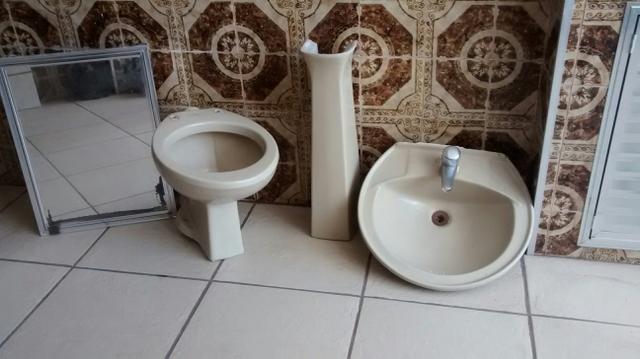 conjunto de vaso de tumulo  Vazlon Brasil -> Conjunto De Banheiro Vaso E Pia