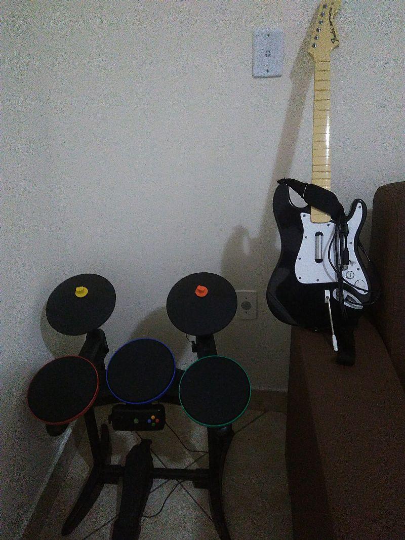 Volante microsoft xbox original vazlon brasil - Bateria Guitarra Rock Band Para Xbox 360