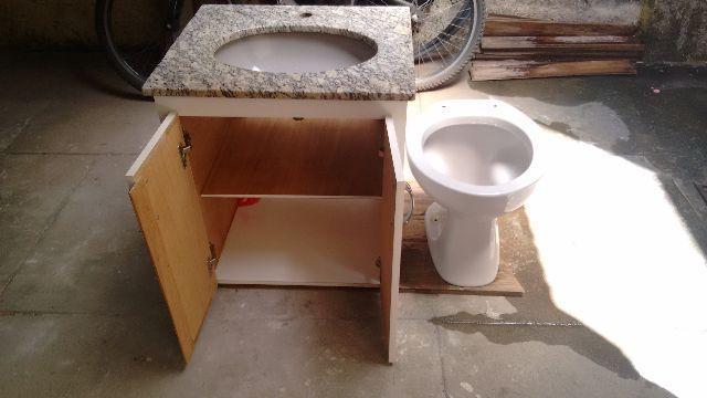vaso para banheiro cinza  Vazlon Brasil -> Conjunto De Banheiro Vaso E Pia
