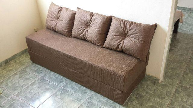 Sofa direto da fabrica preco imbativel sued varias for Divan cama fabrica