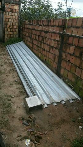 Telhas de aluminio usadas rj