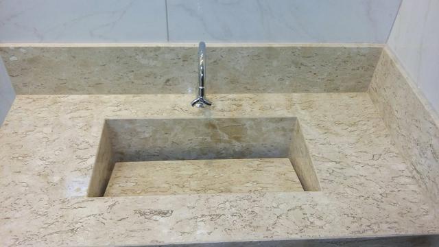 lavatorio em bege bahia com x cuba de apoio  Vazlon Brasil # Cuba De Sobrepor Para Banheiro Eternit Darus Branco
