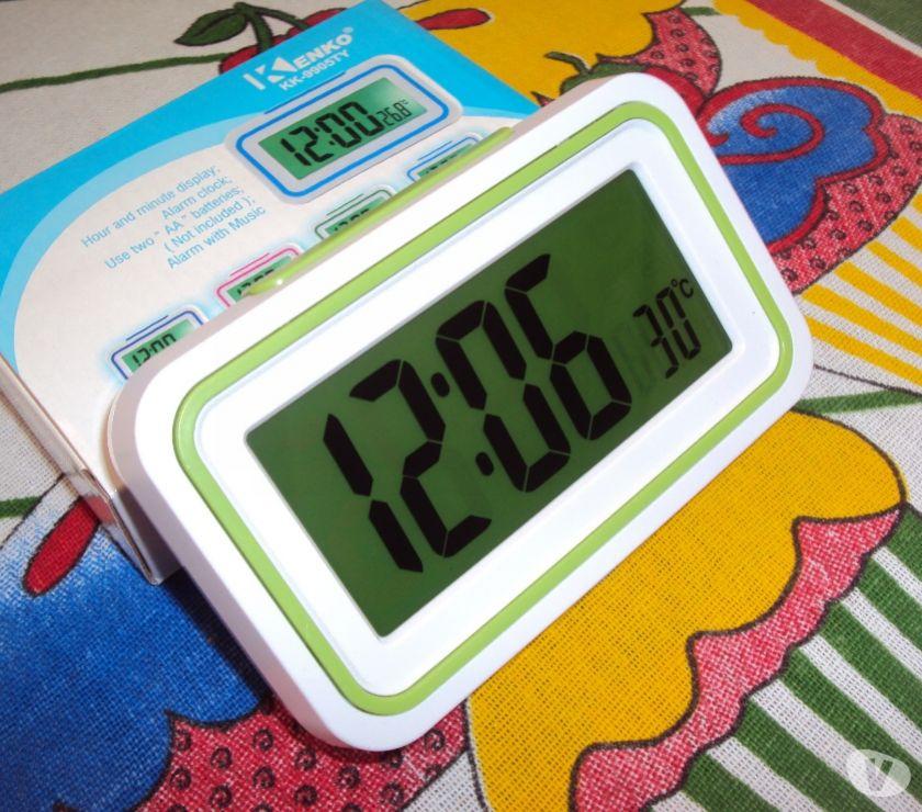 542d6d02365 relogio para deficiente visual fala hora e temperatura   OFERTAS ...