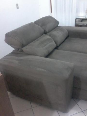 Sofa grande em chenillesemi novo motivo mudanca vazlon for Sofa grande barato