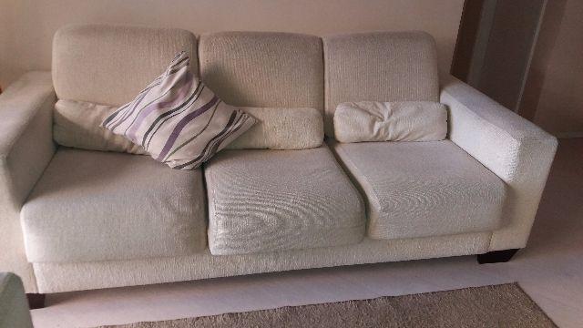 Jogo sofa de 3 lugares com chaise e de 2 lugares vazlon for Sofa 03 lugares com chaise