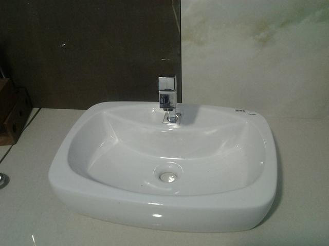 pia com cuba e torneira  Vazlon Bras -> Torneiras Para Banheiro Cuba Sobrepor