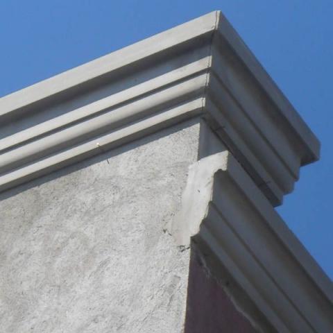 Porta de 80 com beiral de metal desapego vazlon brasil - Molduras para exteriores ...