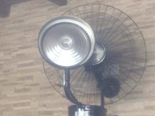 Vendo tres ventilador que solta vapor de agua vazlon brasil - Aspersor de agua ...