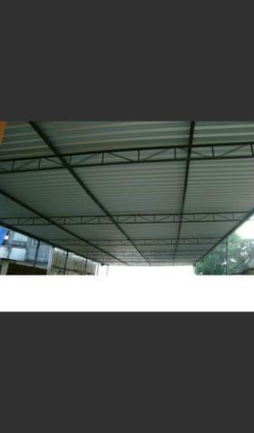 Telha de aluminio 6 metros
