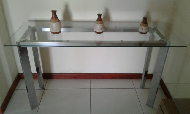 Aparador Sala Jantar ~ aparador de inox com tampa de vidro Vazlon Br