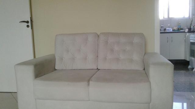 Sofa de 3 lugares luciana moveis vazlon brasil for Sofa 02 lugares