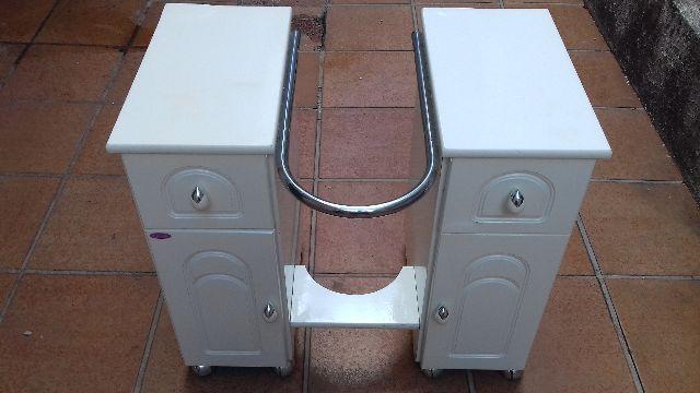 gabinete para pia branco marca bumi slim  Vazlon Brasil -> Gabinete De Banheiro Bumi