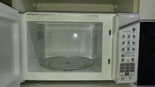 554d01360 forno micro ondas electrolux ponto certo mep41 31l branco 110v ...