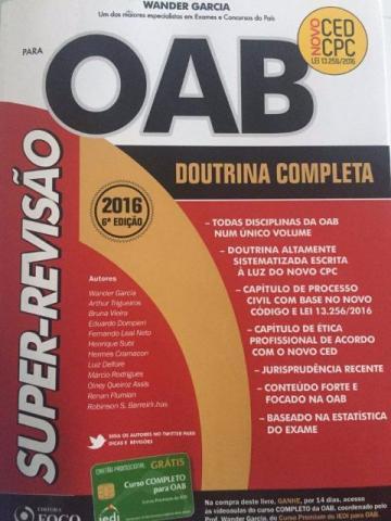 Super revisao oab
