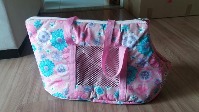 Bolsa De Transporte Gato : Bolsa para transporte cachorro e gato rosa em couro