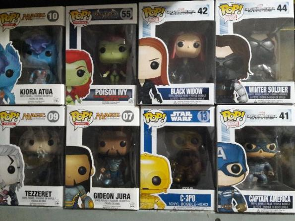 Diversos POP Funko Marvel DC Star Wars Magic The Gathering