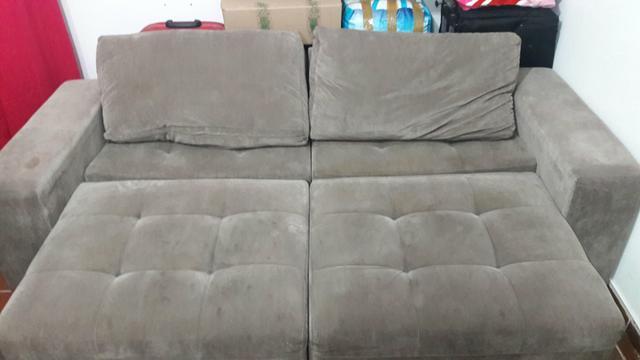 sofa retratil sylvia design em otimo estado [ OFERTAS ...