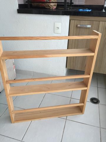 Estante legno