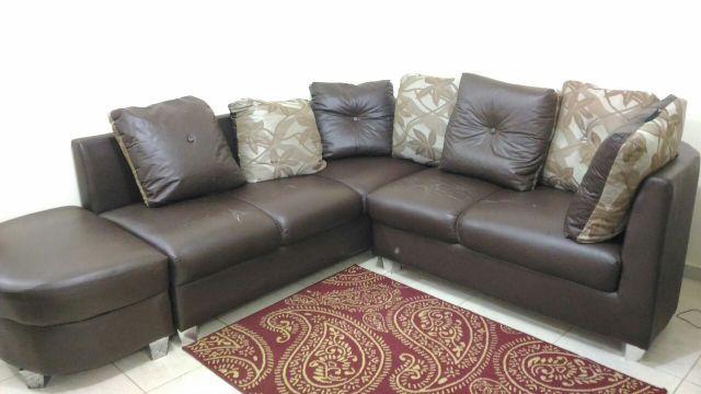 sofa 2 e 3 lugares couro sintetico curitiba moveis ...