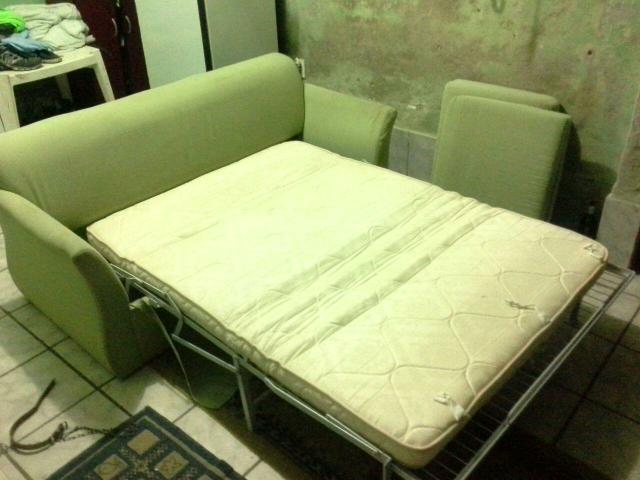 Sofa cama verde claro sem braco ofertas vazlon brasil - Sofa cama verde ...