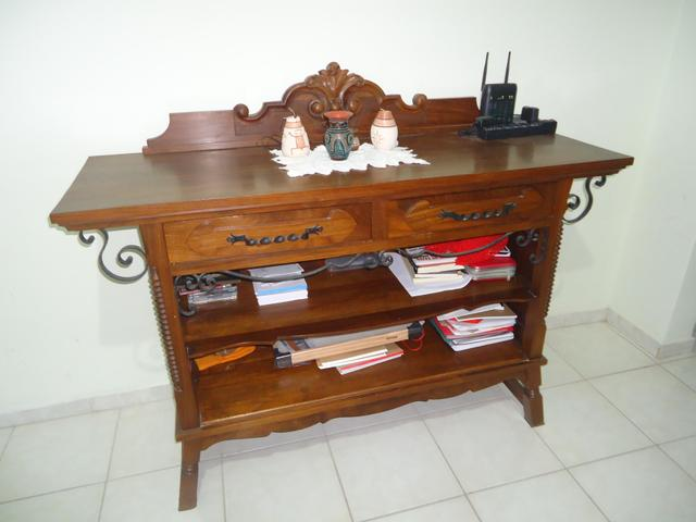 Aparador Para Sala Casas Bahia ~ balcao aparador antigo multiuso em madeira da decada de 70 [ OFERTAS ] Vazlon Brasil