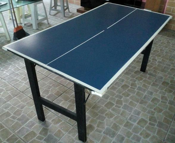 Mesa ping pong klopf ofertas vazlon brasil for Mesa de ping pong usada